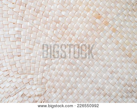 Handcraft Bamboo Weave Texture And Background For Pattern