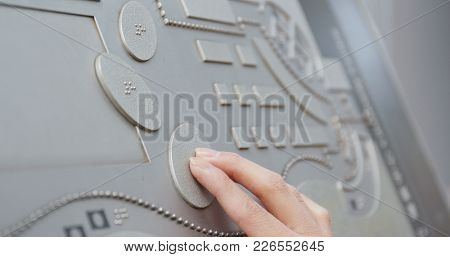 Hand touch on directory