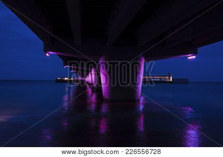 Holiday Resort - Sea Coast In The Evening