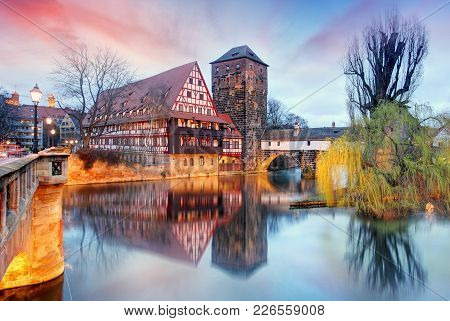 Germany - Nuremberg City At A Nice Sunset