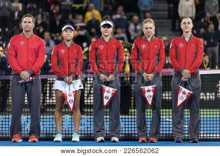 Tennis Match Opening Ceremony