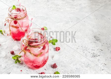 Raspberry Sangria, Lemonade Or Mojito