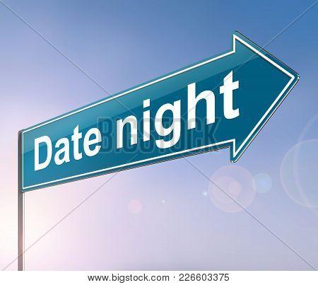 Date Night Concept.