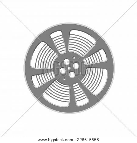 Cinema Film Reel - Retro Style Cinematography Symbol