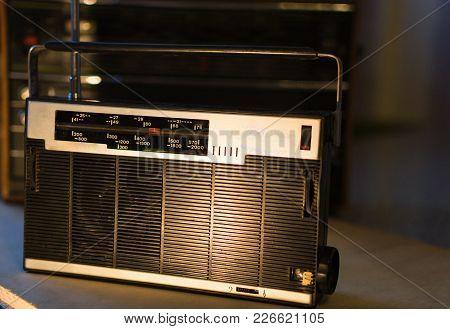 Day Radio Old Radio Retro Style Vintage Photo