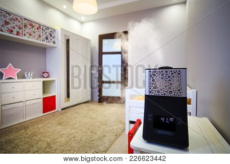 Modern Humidifier In Children Room