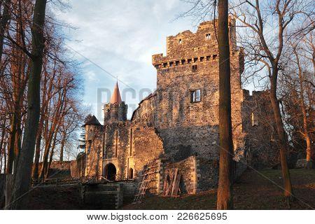 Grodziec chateau in Poland