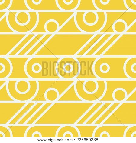 Basic Wheel Mechanism Seamless Pattern. For Print, Fashion Design, Wrapping, Wallpaper