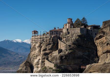 Varlaam Monastery In Meteora Rocks, Meaning
