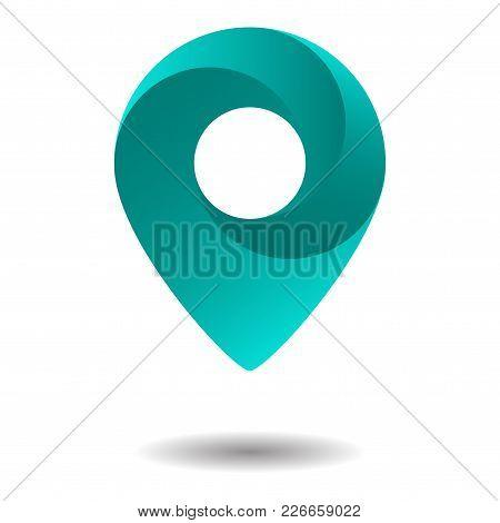 Location Icon Vector. Gelocation Icon For Your Design.