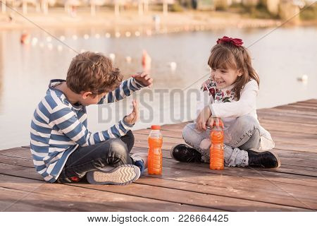 Boy And Girl Talking Fanny Stories
