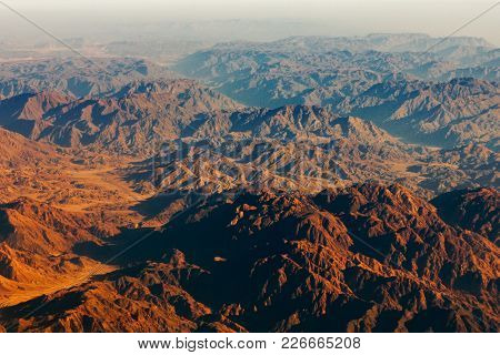 On The Horizon, The High Mountains Of Egypt