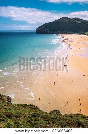 Camino Del Norte. Ocean Coast Line, North Spain