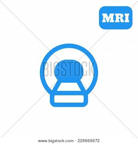 Mri, Ct Scan Icon, Eps 10 File, Easy To Edit