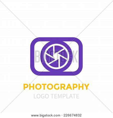 Photography Logo Template, Eps 10 File, Easy To Edit