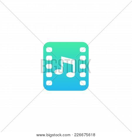 Multimedia Vector Icon, Eps 10 File, Easy To Edit