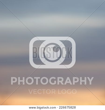 Photography Logo Concept, Vector, Eps 10 File, Easy To Edit