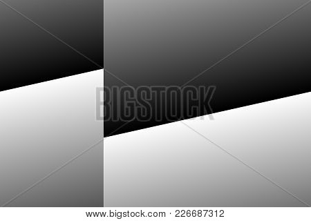 Silver And Black Four-sided Geometric Shapes Background.