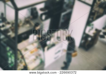 People In Food Court, Cafe, Coffee Shop, Restaurant Interior