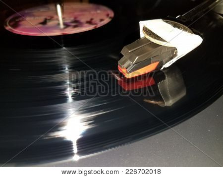 The Only Way To Keep The Record Player From Skipping.
