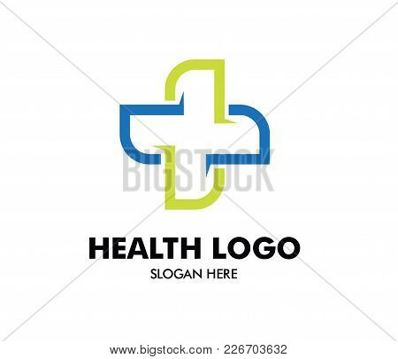 Vector Logo Design For Health Care, Family Healthy Clinic Doctor, Wellness Center, Drug Store, Medic