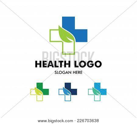 Vector Logo Design For Health Care, Family Healthy Clinic Doctor, Wellness Center, Drug Store, Medic