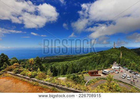 Miradouro Vista do Rei, Sete Cidades, Sao Miguel Island, Azores, Portugal