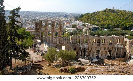 Theatre Of Dionysus Eleuthereus, Athene, Greece