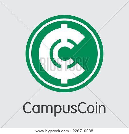 Campuscoin: Blockchain Web Icon. Blockchain, Block Distribution Cmpco Transaction Icon