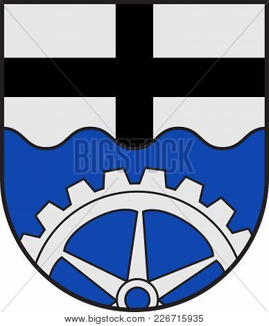 Coat Of Arms Of Wickede Is A Municipality In The District Of Soest, In North Rhine-westphalia, Germa