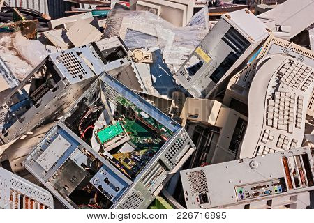 Electronic Waste: Old Computers, Monitors And Other Devices To Recycle