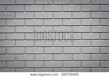Closeup Photo Of Gray Granite Brick Wall Background