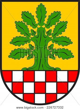 Coat Of Arms Of Holzwickede Is A Municipality In The District Of Unna In North Rhine-westphalia, Ger