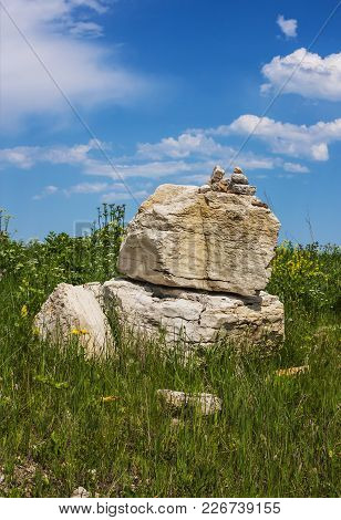 Cult Stones Laid In The Mountains On The Territory Of The Zolsky District, Kabardino-balkar Republic