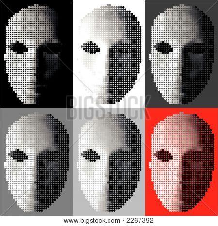 Dot Moon Mask