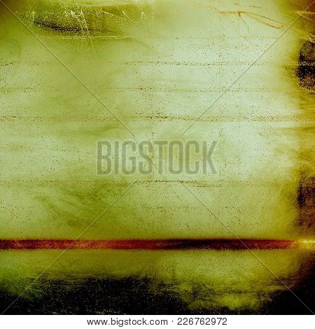 Retro style abstract background, aged graphic texture with different color patterns