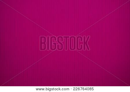 Pink Colored Corrugated Cardboard Texture Useful As A Background