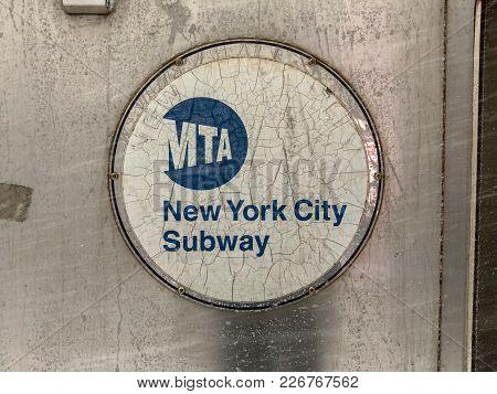 Winter Storm Subway