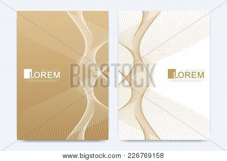 Modern Vector Template For Brochure Leaflet Flyer Advert Cover Catalog Magazine Or Annual Report. Ge