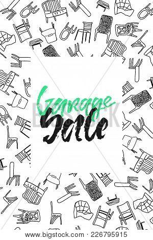 Sale . Grunge Hand Lettering For Your Design