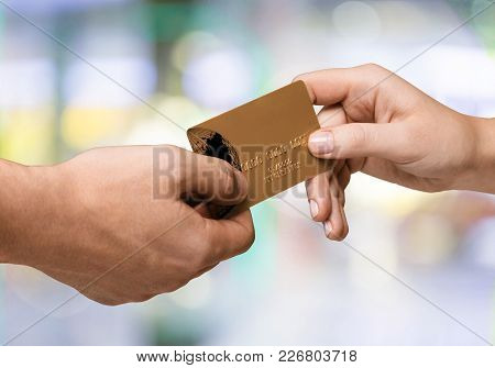 Card Credit Credit Card Human Hands Credit Card Purchase Smart Card Shopping
