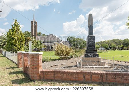 Verkeerdevlei, South Africa, February 9, 2018: A Memorial, For Boer Soldiers Of The Anglo Boer War O
