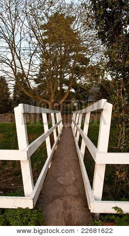 White Footbridge