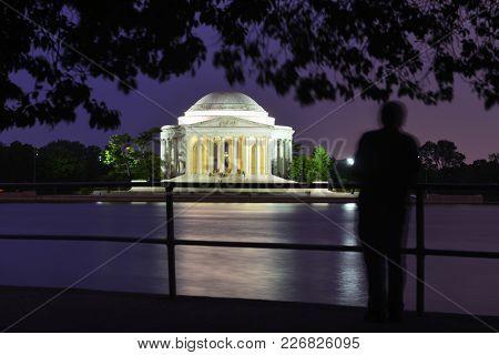 Washington D.C. - Jefferson Memorial at night