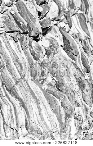 Abstract Texture Background Of A Rock  Surface