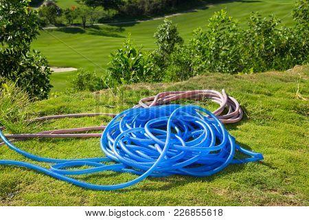 Rubber Tube For Water Spraying In Garden