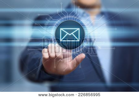Message Email Mail Communication Online Chat Business Internet Technology Network Concept.