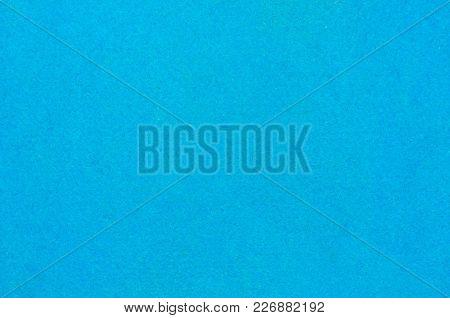 Blue Felt Fabric Texture Background