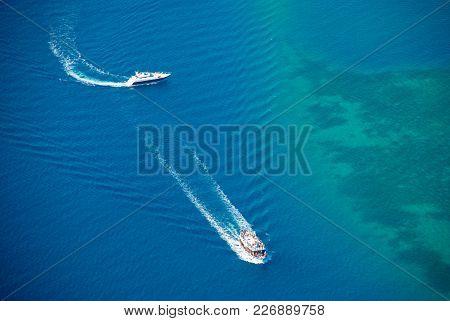 Yacht And Pleasure Boat