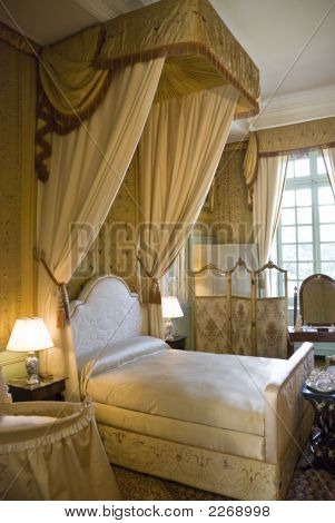 Bedroom In Chateau Cheverny